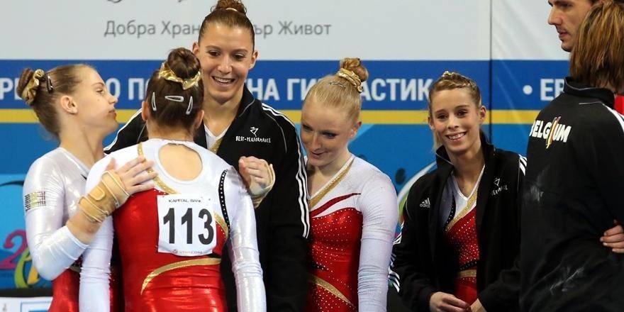 Gymnastique: Les Belges 7e de la finale en équipe