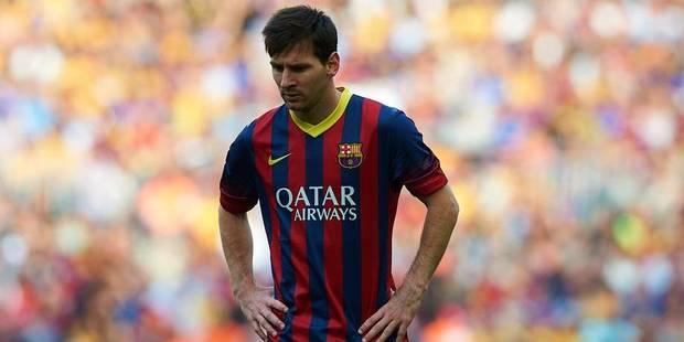 Lionel Messi demande pardon aux supporters du Barça - La DH