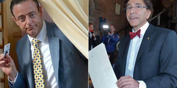 De Wever et Di Rupo ont voté! - La DH