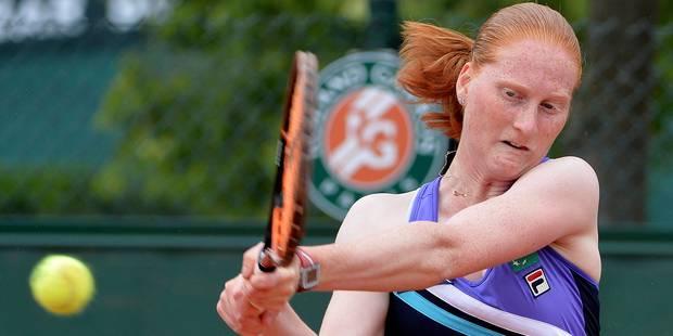 Roland-Garros: Van Uytvanck battue en deux sets - La DH