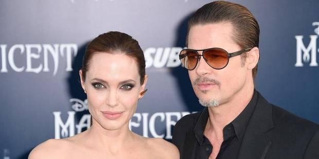 Brad Pitt frappé au visage - La DH