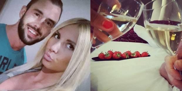 Defour décompresse avec sa compagne Laura Tropea dans un hôtel liégeois - 538d9e283570900304a1c6a2