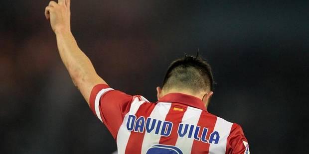 David Villa arrête sa carrière internationale après le Mondial - La DH