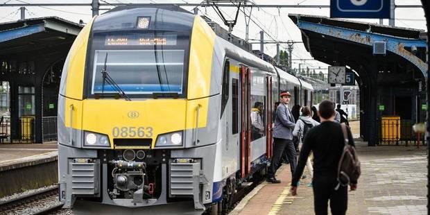La circulation des trains perturbée entre Anvers et Bruxelles - La DH