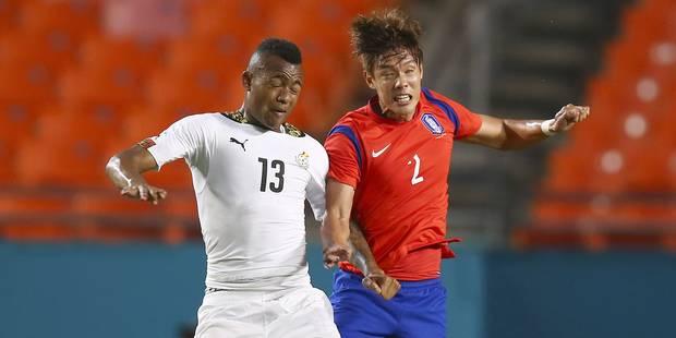 Le Ghana corrige la Corée du Sud 4-0