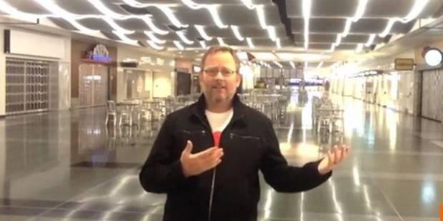 """Bloqué dans un aéroport, il parodie """"All by myself""""... et Céline lui répond - La DH"""