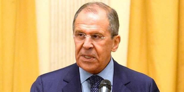 """Ukraine: """"Toutes les cartes"""" sont du côté ukrainien, selon Lavrov - La DH"""