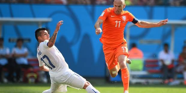 Les Oranje coiffent les Chiliens (2-0) - La DH