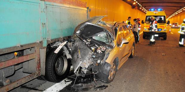 Spectaculaire accident sur l'A8