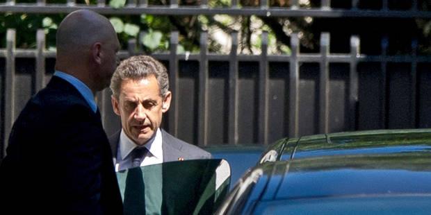 Sarkozy, la poisse jusque dans l'ascenseur - La DH