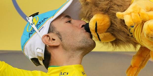 Nibali se prend un râteau sur le podium du Tour - La DH