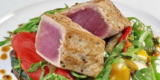Cuisine Beige Sol Gris : Recette du 9 juillet sur DH Radio Filet de thon rouge grillé