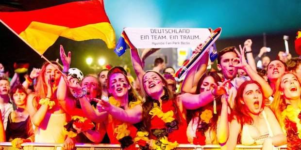 Brésil-Allemagne: 32 millions d'Allemands devant leur écran, 35 millions de tweets échangés... - La DH