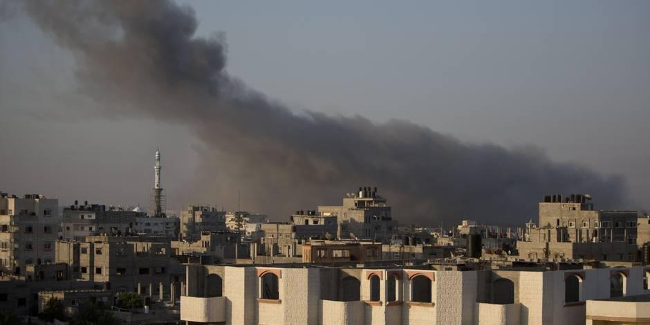Gaza: plus de 300 cibles visées par Israël dans la nuit