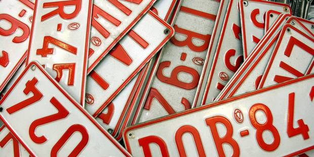 Contr�le des plaques d'immatriculation par la douane la semaine prochaine