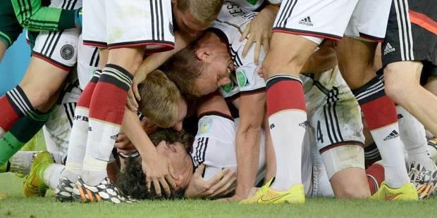 """Marc Wilmots : """"L'Allemagne est un beau champion du monde !"""" - La DH"""