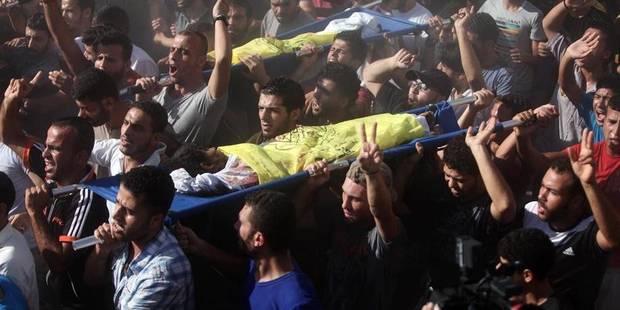 Gaza : quatre enfants tués sous les yeux de la presse internationale - La DH