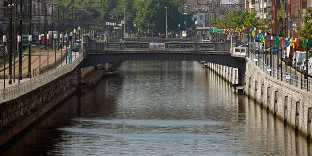 Un homme perd la vie après une chute dans le canal à Bruxelles