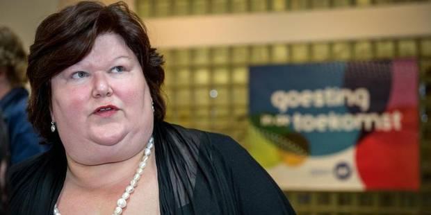 Maggie De Block devient temporairement ministre de la Justice - La DH