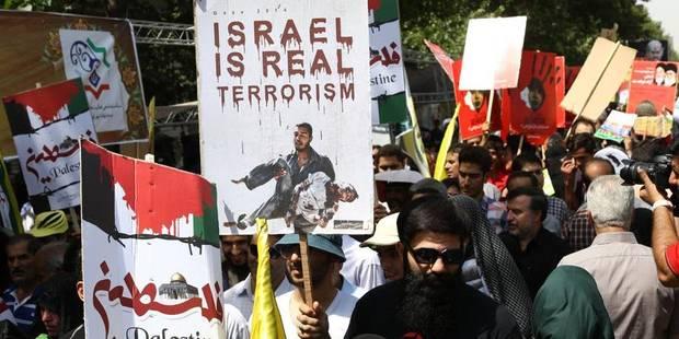 Les manifestations pro-israélienne et pro-palestinienne de dimanche autorisées - La DH