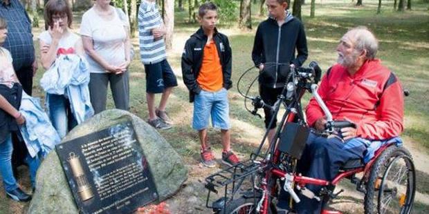 Un Français rejoint l'ancien camp de Sachsenhausen en chaise roulante - La DH