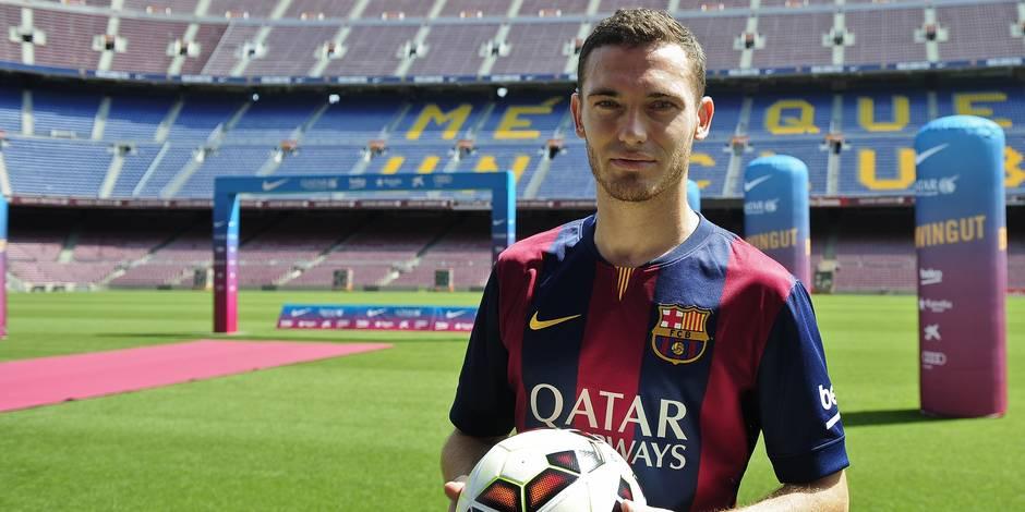 Maillot Domicile FC Barcelona Vermaelen