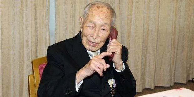 Un Japonais devient l'homme le plus vieux au monde
