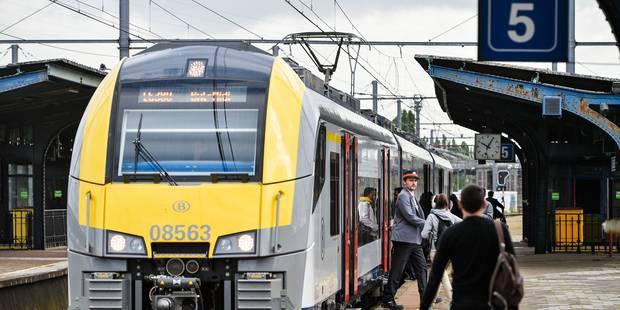 Grève spontanée du personnel de nettoyage des trains à l'atelier SNCB de Schaerbeek - La DH