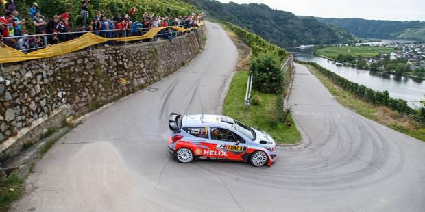 Rallye d'Allemagne: Neuville sur le podium - La DH