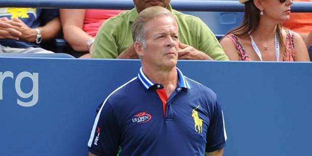 US Open: Todd, 53 ans, blessé de guerre et ramasseur de balles - La DH
