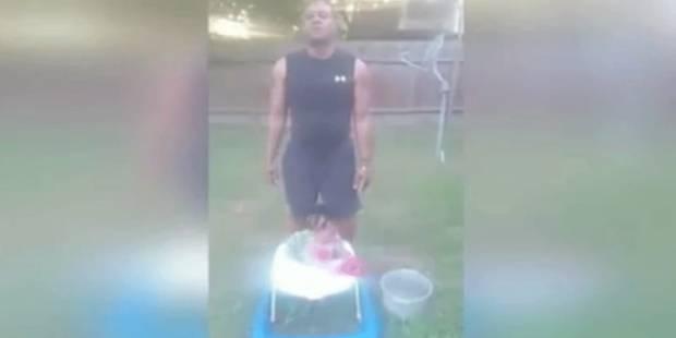 Ce grand-père indigne fait un Ice Bucket Challenge avec sa petite-fille de 10 mois - La DH