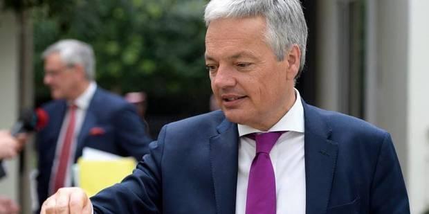 Reynders se rapproche de la Commission européenne - La DH