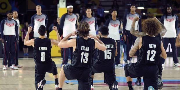 Mondial de basket: le Haka néo-zélandais contre les USA ! - La DH