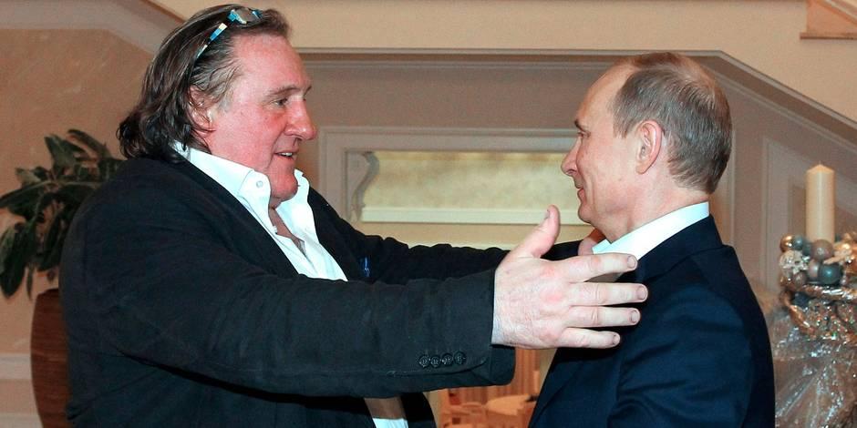 """Depardieu """"fier"""" que la Serbie ne sanctionne pas la Russie"""