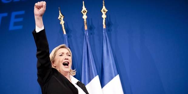 Marine Le Pen serait en tête au premier tour de la présidentielle - La DH