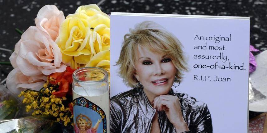 Des obsèques de star pour la drôlissime Joan Rivers