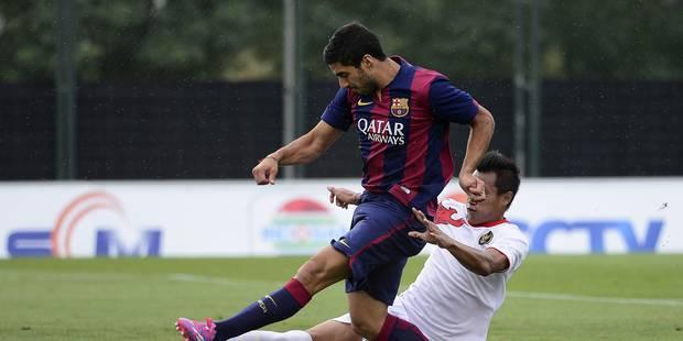 Suarez et Vermaelen buteurs avec la réserve du Barça - La DH