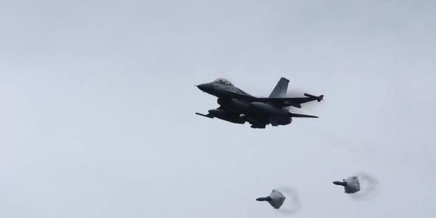 Large soutien à l'engagement de six F-16 belges contre l'EI en Irak - La DH