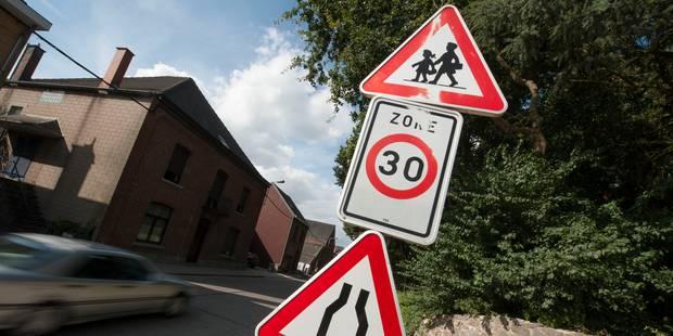 Plus de 86.000 PV dress�s en 2013 pour exc�s de vitesse dans les zones 30