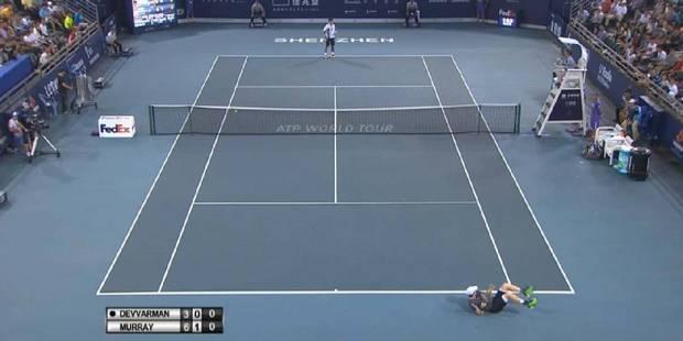 Shenzhen: lourde chute pour Andy Murray