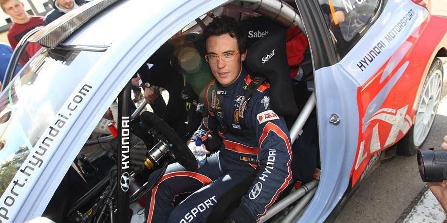 Thierry Neuville vainqueur de l'East Belgian Rally