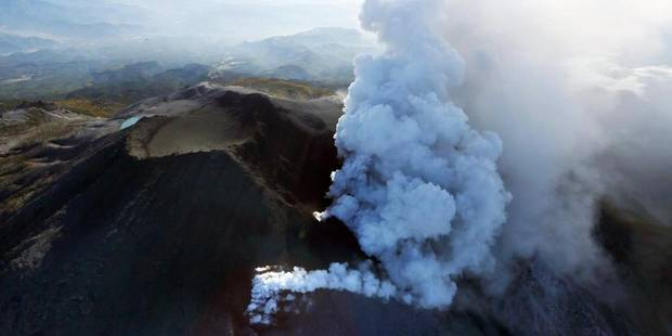 Volcan en �ruption au Japon: 4 morts confirm�s (PHOTOS)