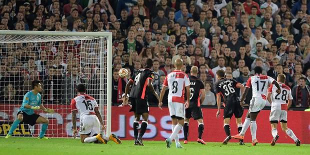 Le Standard s'incline 2-1 contre Feyenoord