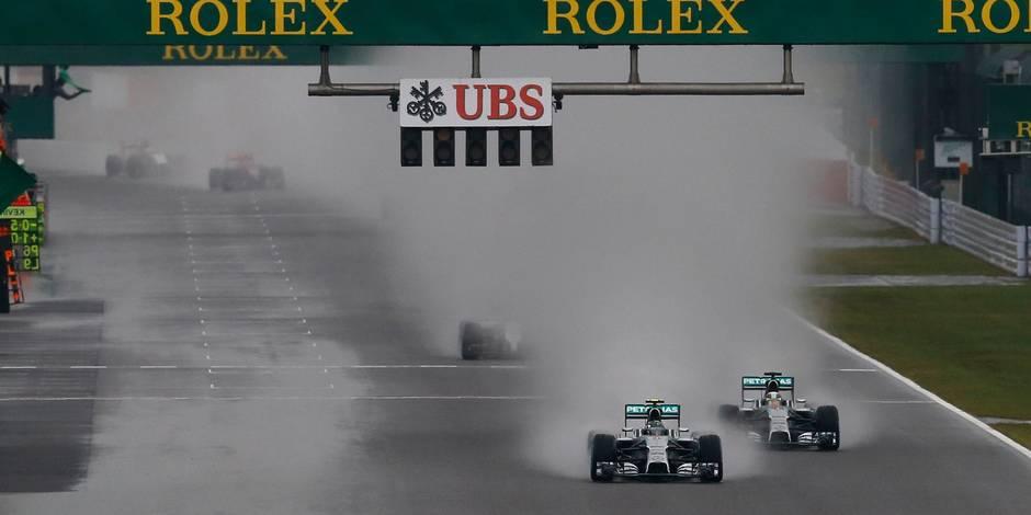 GP du Japon: Hamilton vainqueur par défaut