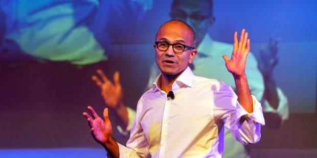 La bourde du patron de Microsoft qui a vexé les femmes - La DH