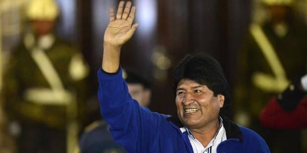 Bolivie: Evo Morales largement réélu pour un troisième mandat - La DH