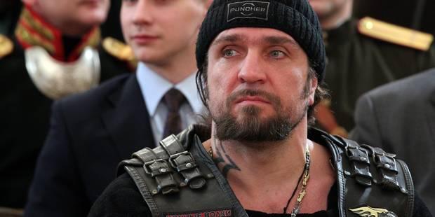 En Russie, la meute des Loups rugit � moto pour la patrie