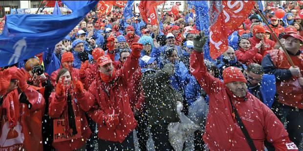 Grève générale le 15 décembre - La DH