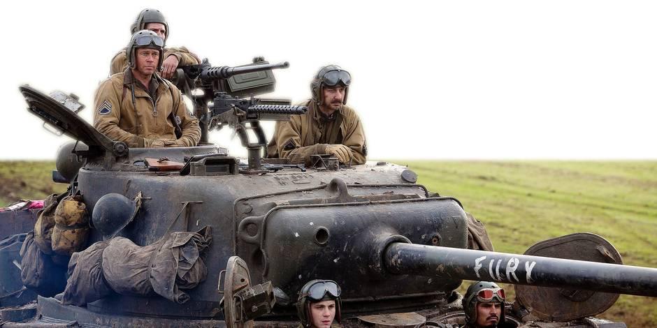Sorties cinéma: Brad Pitt en mode Fury