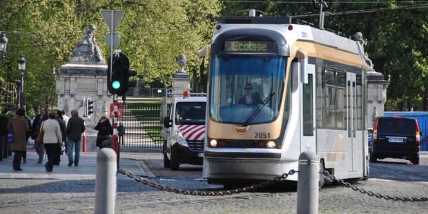 Circulation des trams interrompue entre Buyl et Hansen-Soulie - La DH